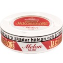 Jakobsson's Melon Strong Slim White Dry Portion Snus