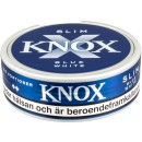 Knox Slim Blue White Portion Snus