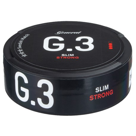 General G.3 Slim Original Portion Snus