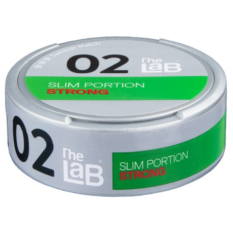 The LAB 02 Slim Strong Portion Snus