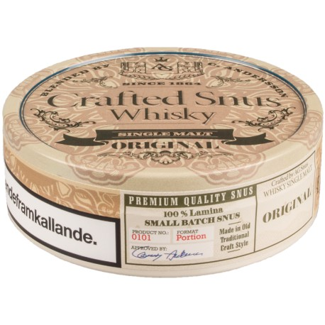 Islay Whisky Snus by Conny Andersson