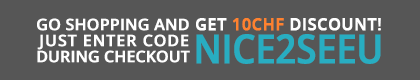 Start shopping and get 10 CHF off!